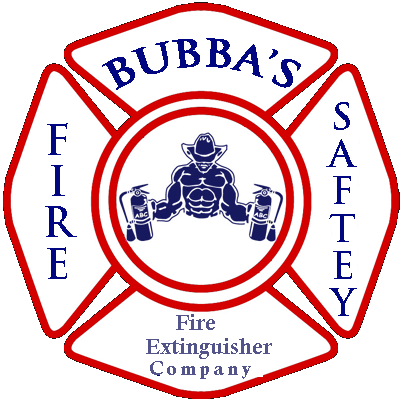 Bubbas Fire Extinguisher Logo - Fire Extinguisher Service